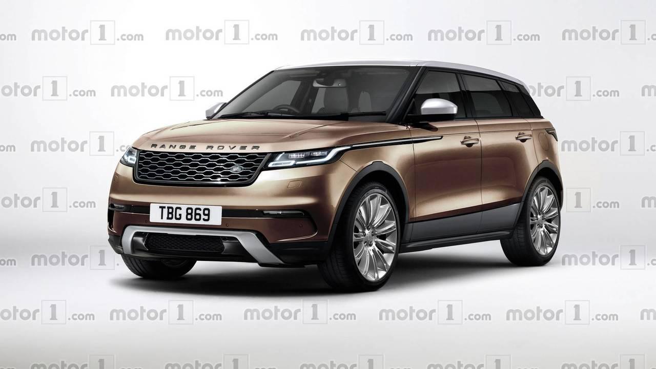 2019 Range Rover Evoque render