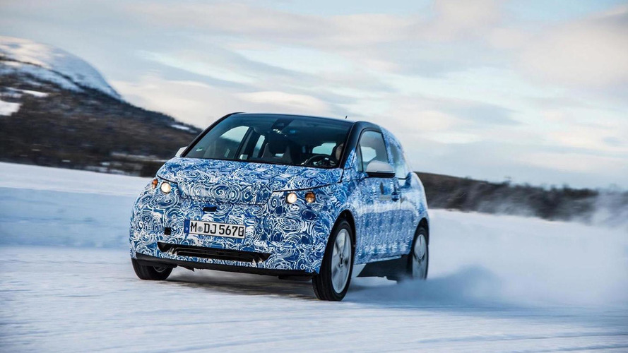 BMW releases official spy photos of the i3
