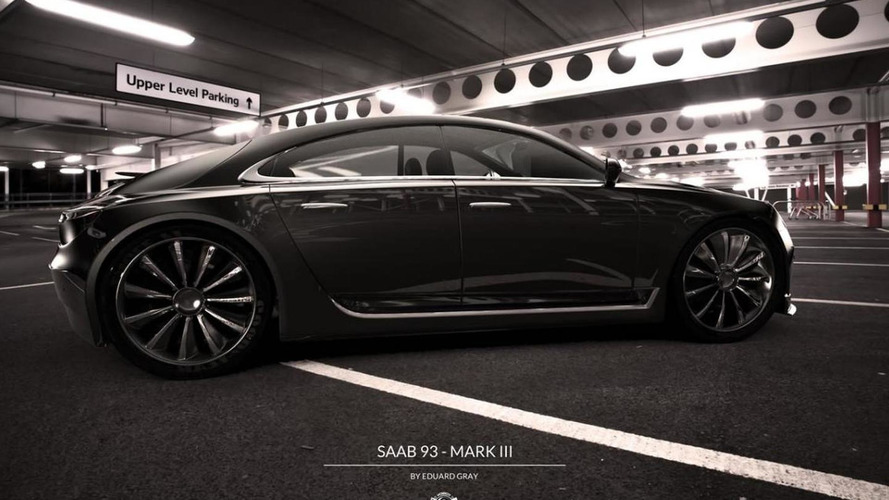 2013 Saab 9-3 envisioned by Gray Design