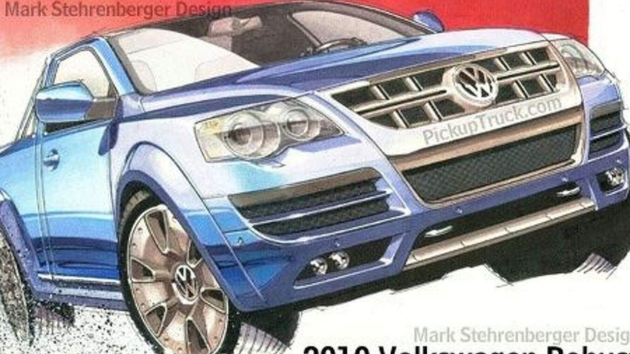 Volkswagen Toro rendering