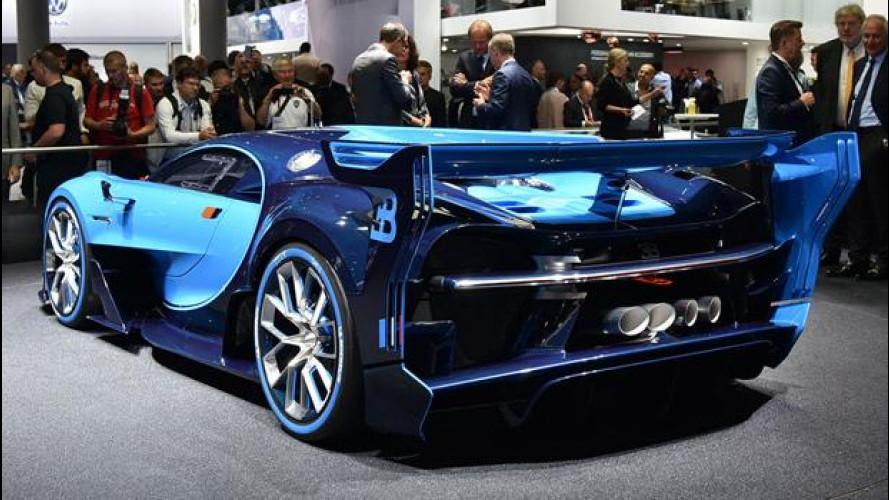 Salone di Francoforte, Bugatti: dalla PlayStation alla strada