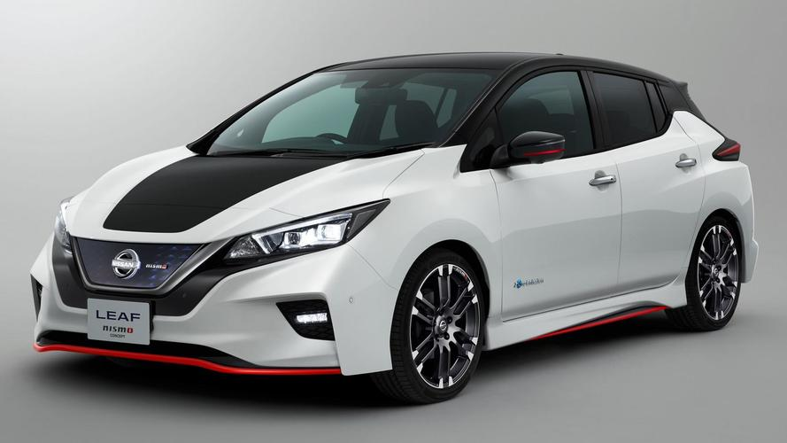 Nissan Leaf Nismo Concept Revealed In Full