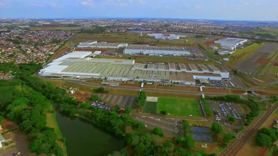 Fábrica da Honda - Sumaré - Brasil