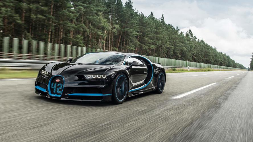 Un nouveau record battu pour la Bugatti Chiron !