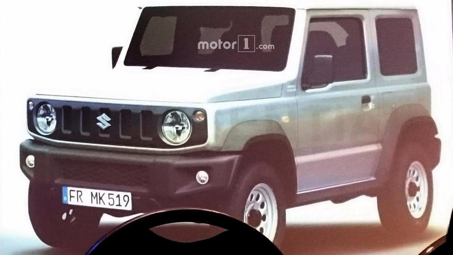 Vazou! - Esta é a nova geração do Suzuki Jimny
