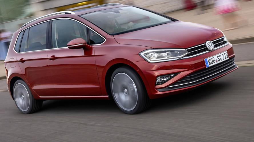 Volkswagen restyle sa Golf Sportsvan à Francfort