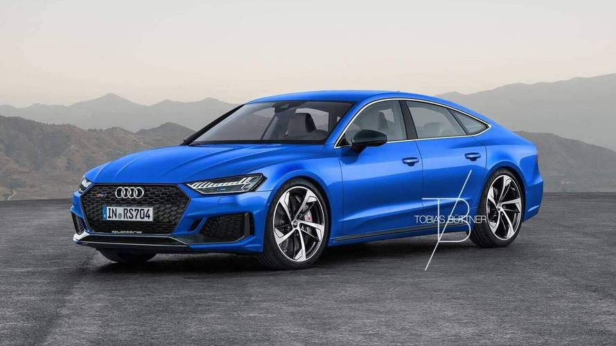 2019 Audi RS7 Rendered, Could Come With 700-HP Hybrid