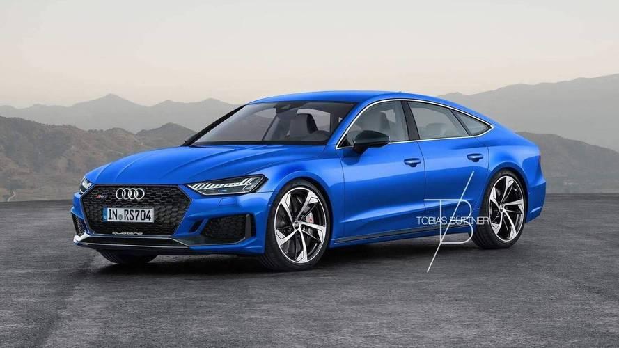 Primera recreación del Audi RS 7 Sportback 2019