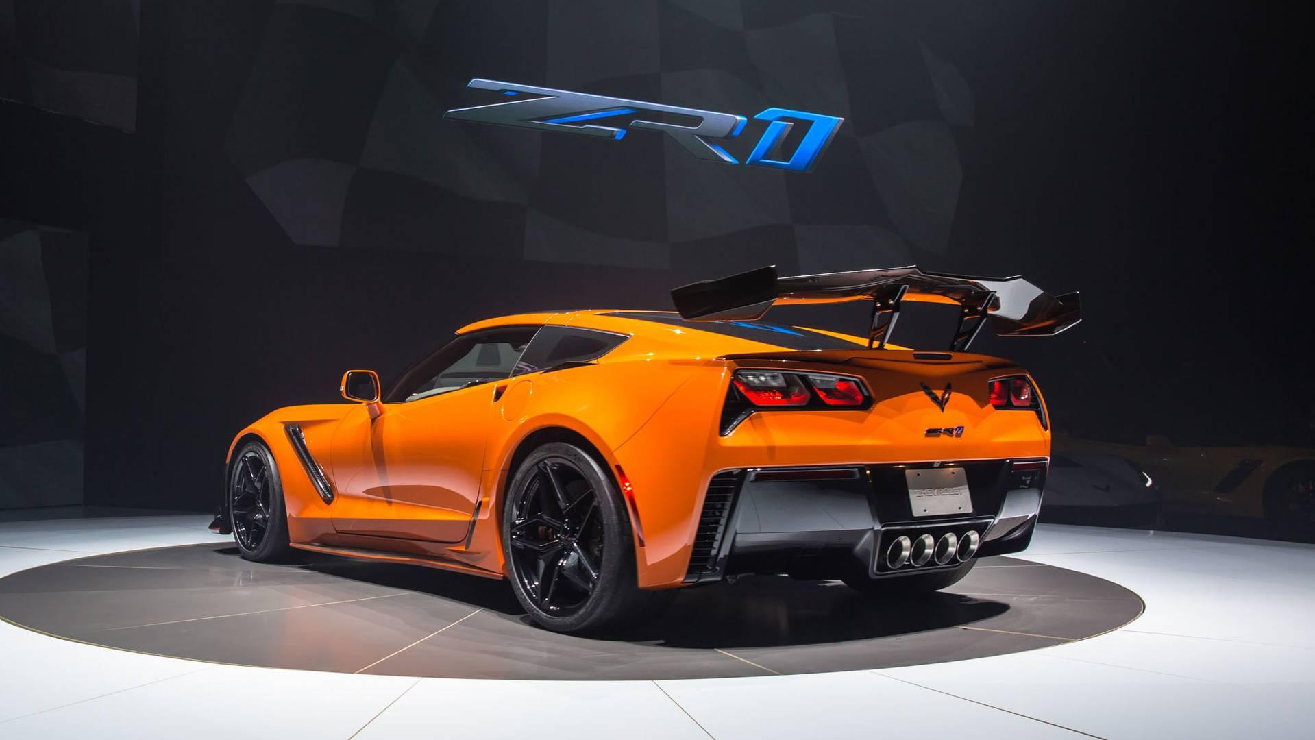 2018 Corvette Zr1 >> 2019 Chevy Corvette ZR1 Debuts With 755 Horsepower