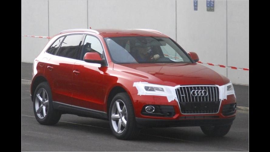 Erwischt: Audi frischt den Q5 auf