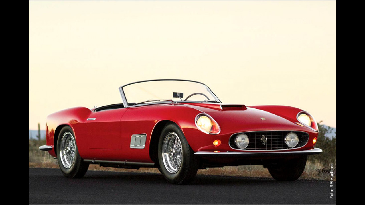 Platz 7: Ferrari 250 GT California Spyder LWB, Baujahr 1958