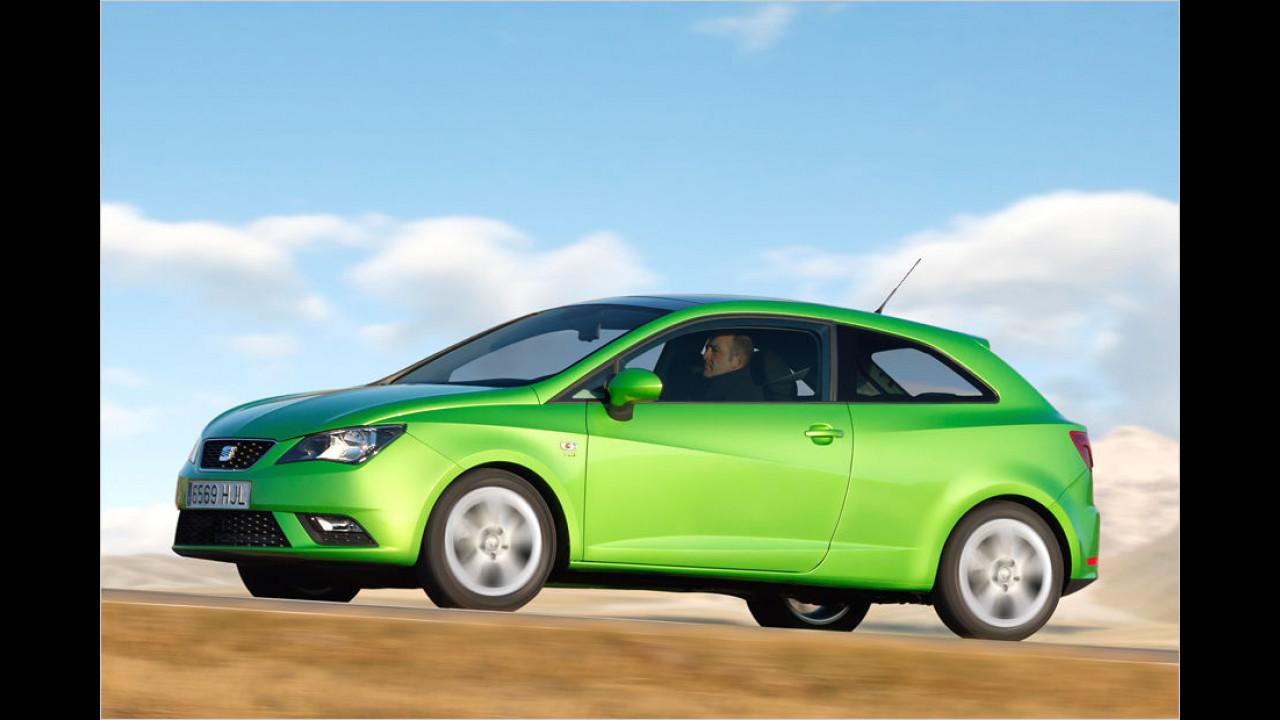 Seat Ibiza SC 1.2 Reference (60 PS): 30,8 Prozent