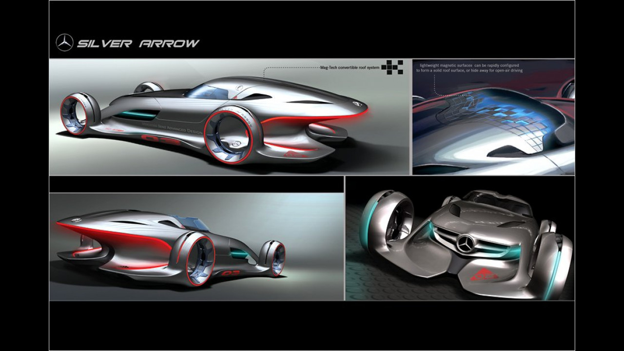 Mercedes Benz Silver Arrow