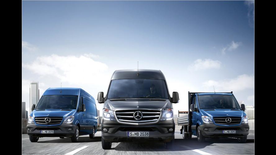 Neuer Mercedes Sprinter: Aber sicher