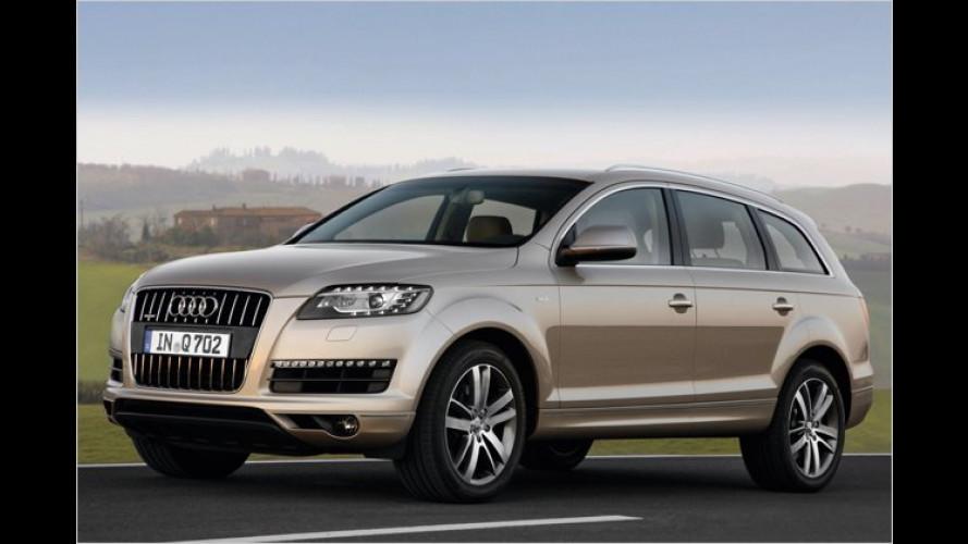 Neues Q7-Einstiegsmodell: Audi dreht den Preis runter