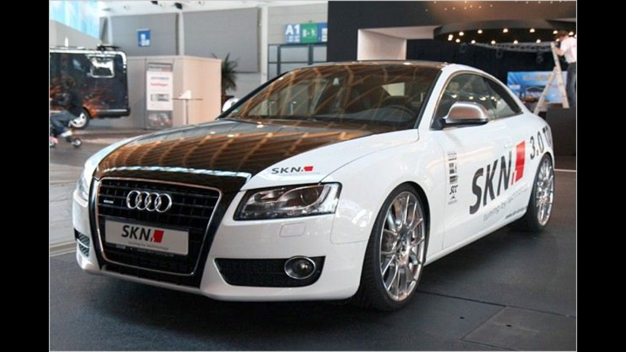 SKN hat sich des Audi A5 3.0 TDI angenommen