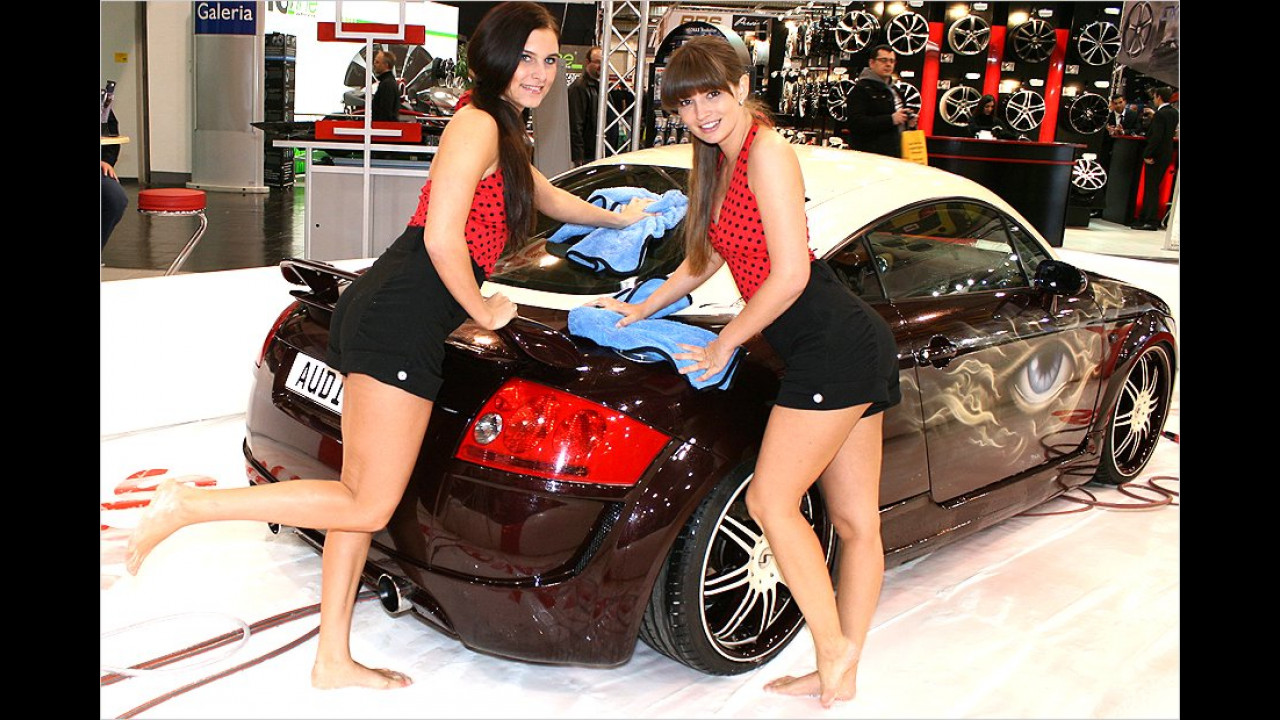 Hier kommen wir wieder her, wenn unser Auto gewaschen werden muss. Gern auch jeden Tag.