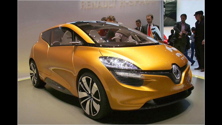 Futuristischer Familienvan: Renault-Studie R-Space