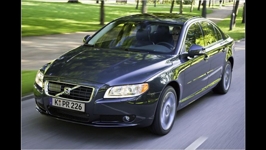 Volvo: Überarbeiteter Top-Diesel für den S80 D5