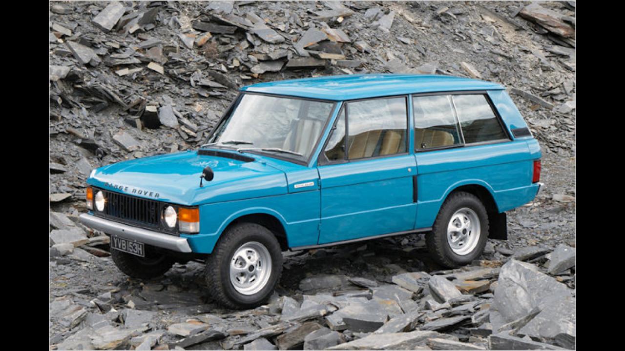 40 Jahre Range Rover