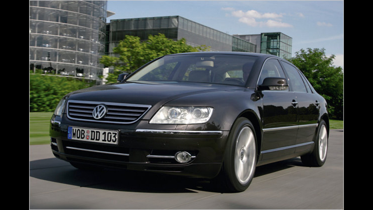 Oberklasse: 2. Platz: VW Phaeton