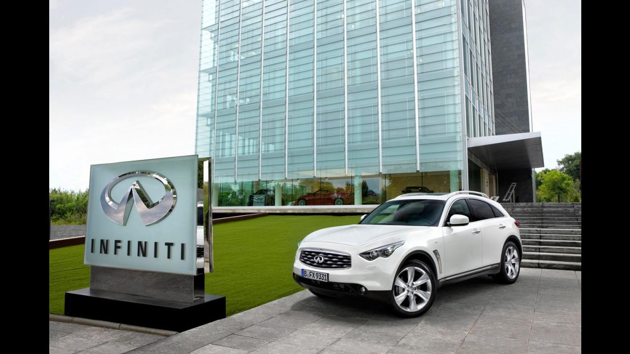 Infiniti FX30d - TEST