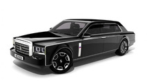 Russian presidential limo concept by Dmitry Dyachenko 25.2.2013