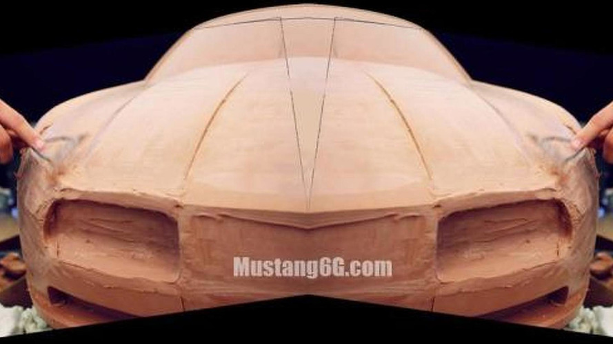Possible 2015 Ford Mustang clay models leaked?