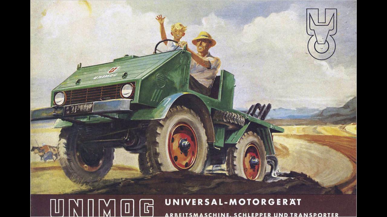 Die Entwicklungsgeschichte des Unimog