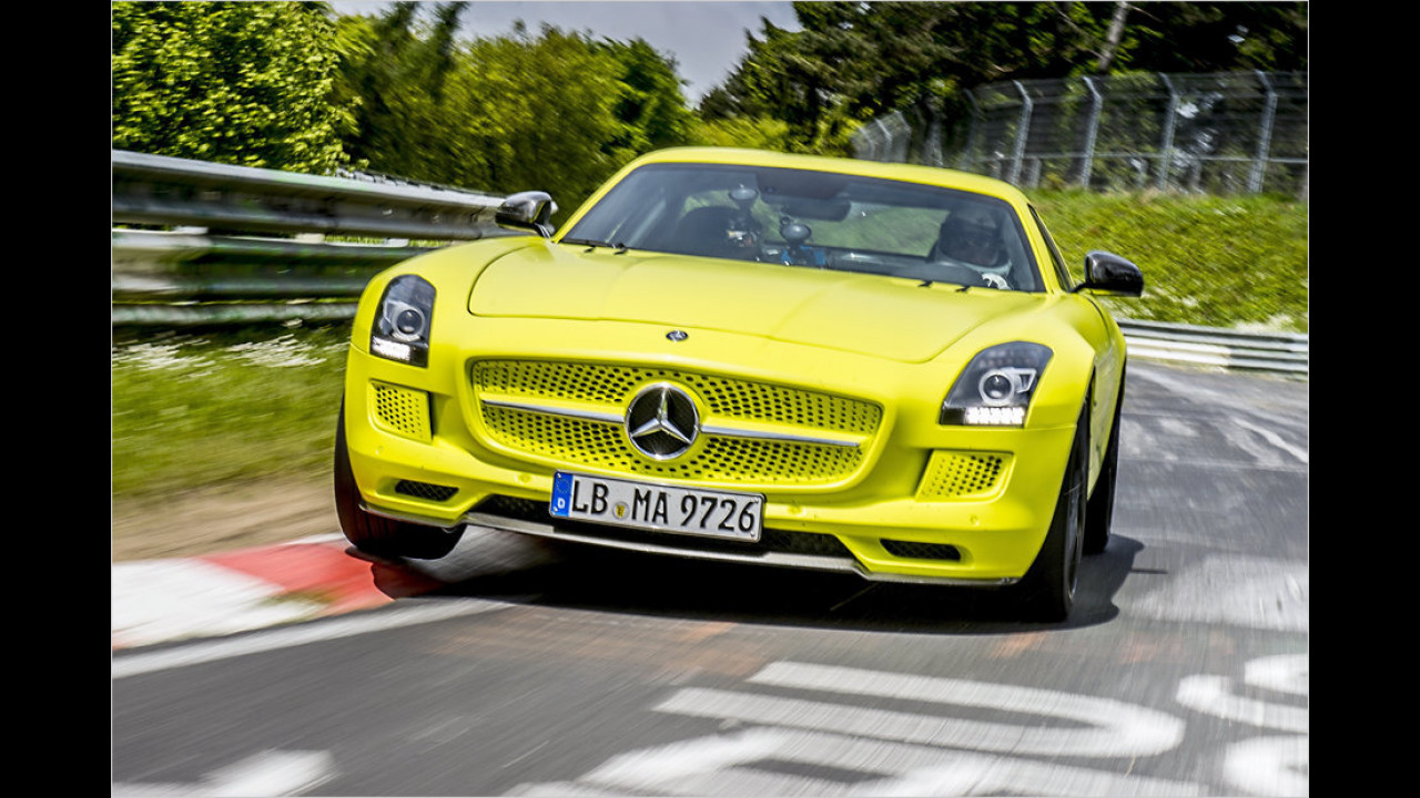 Mercedes SLS AMG Electric Drive, 2013
