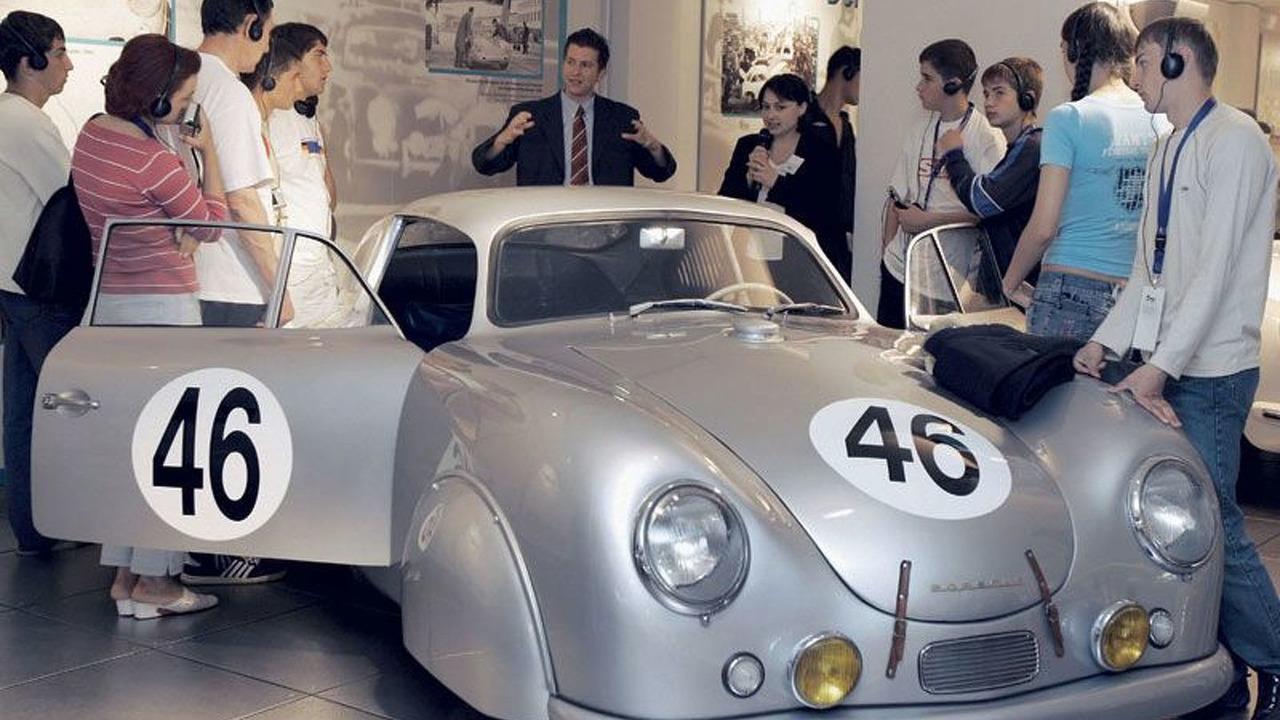 Beslan Schoolkids at the Porsche Museum