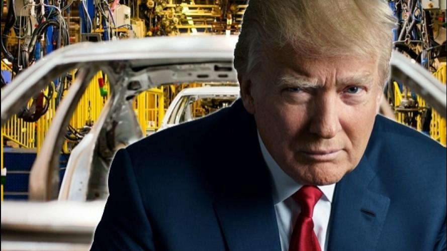 Donald Trump, cosa rischia l'industria dell'auto (nel bene e nel male)