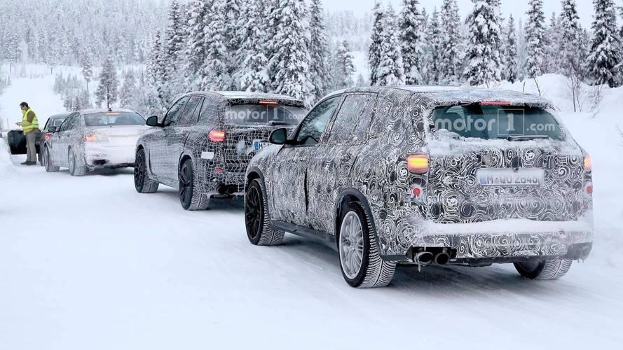 2019 BMW X5 M Spy Photos