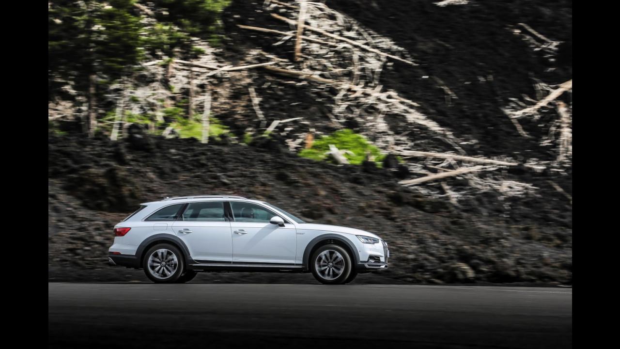 Audi A4 allroad, lo spot sull'Etna 001