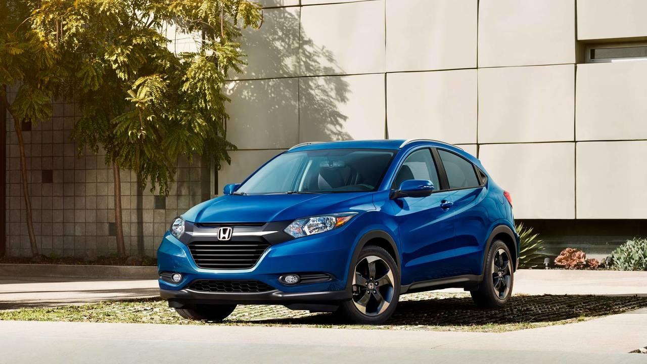 2. Honda HR-V: 28/34 mpg