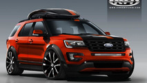 Ford Explorer Sport from Cars by Kris