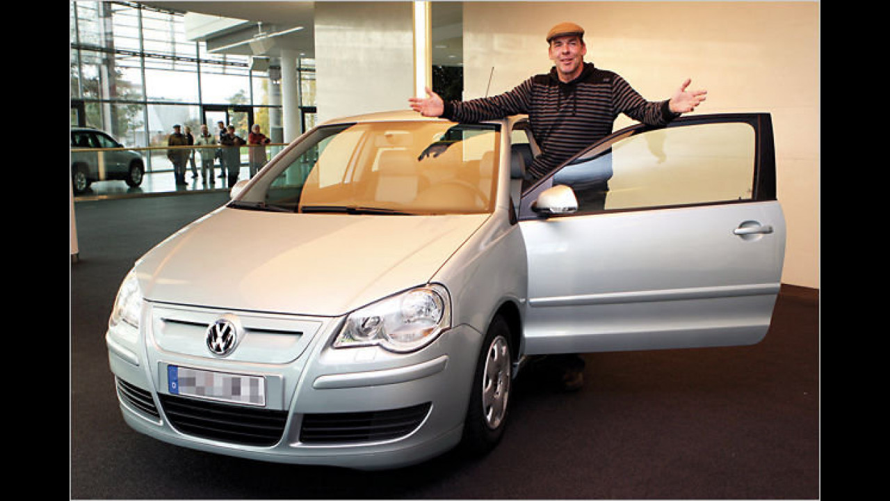 Sascha Hehn: VW Polo BlueMotion