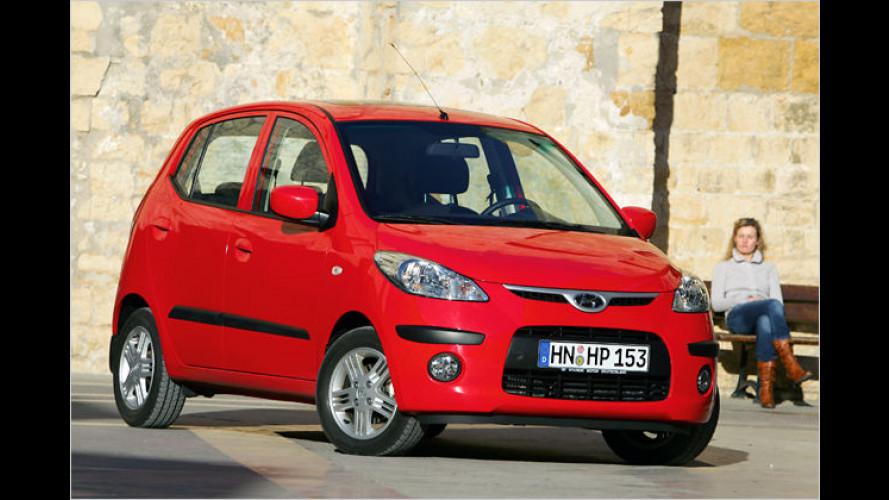Hyundai i10: Neuer Otto-Motor, neue Ausstattungslinien