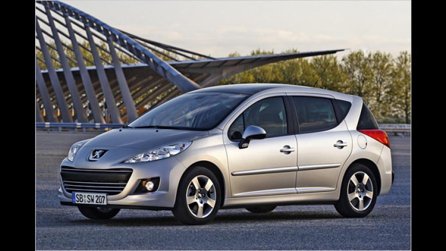 Speziell für Geschäftskunden: Peugeot 207 Business-Line