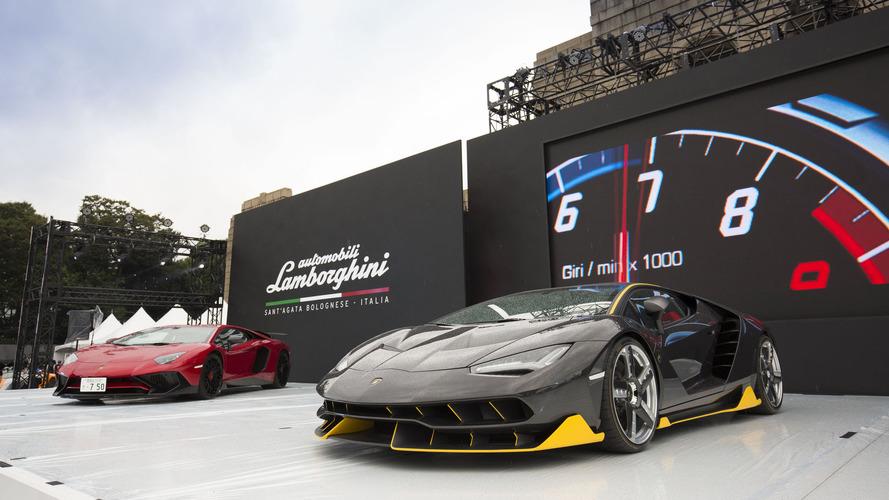 Lamborghini opens carbon fiber exhibit in Tokyo
