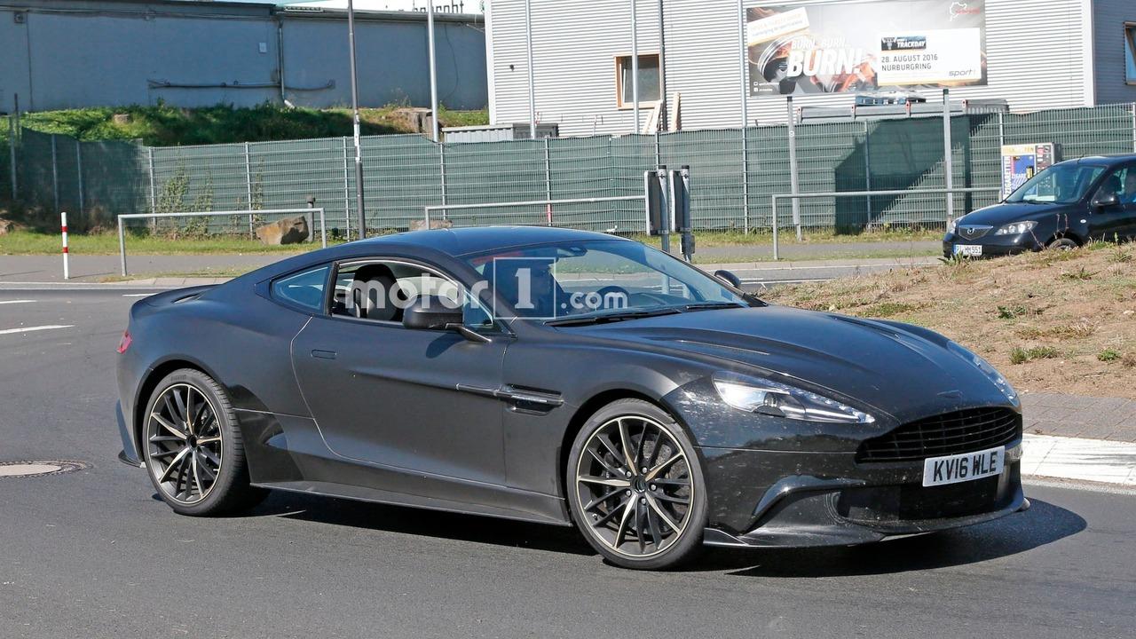 Aston Martin Vanquish S Spy Pics