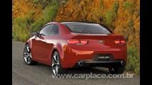 Kia Forte - Kia revela imagem do novo esportivo baseado no Koup Concept