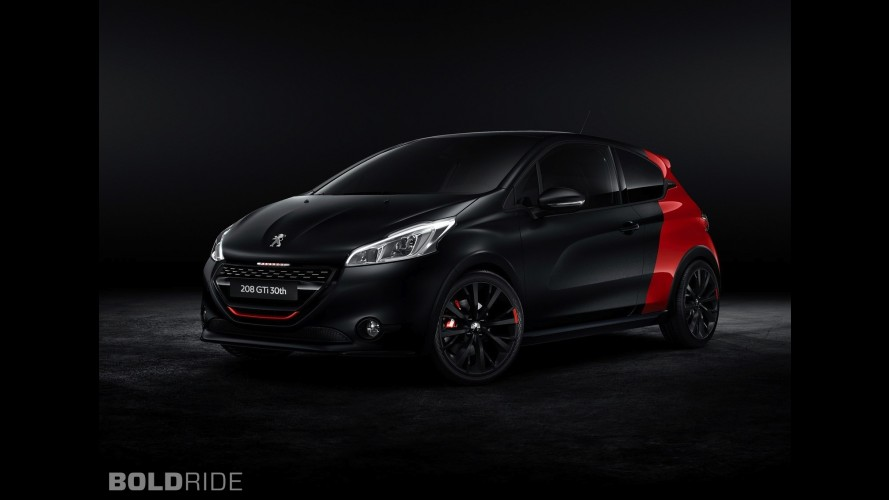 peugeot 208 gti 30th anniversary edition. Black Bedroom Furniture Sets. Home Design Ideas
