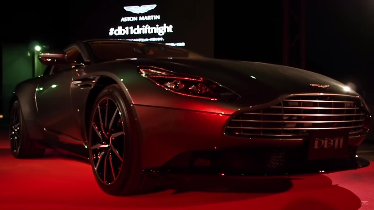 Aston Martin DB11 Osaka Drift