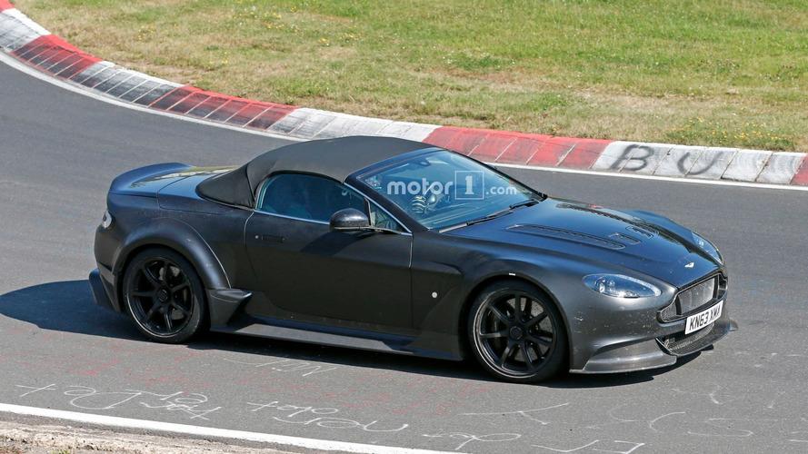 Aston Martin Vantage GT12 Roadster - De nouveaux spyshots laissent présager une production