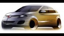 Fiat Uno 2009 - Projeto B pode ser a nova versão do Uno