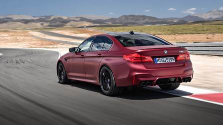 2018 BMW M5 Packs A 600-HP Punch, Standard All-Wheel Drive