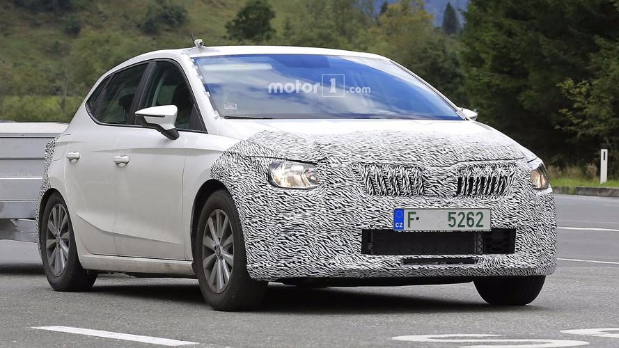 Un Skoda de pruebas ¿con el lateral del SEAT Ibiza?