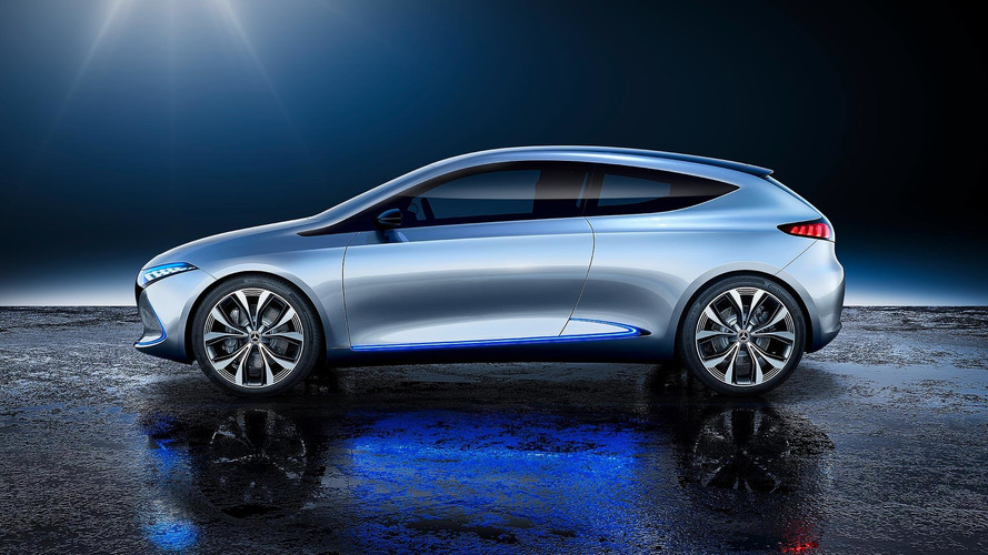 Mercedes Benz Eq A Concept Puts 249 Mile Ev In A Stylish