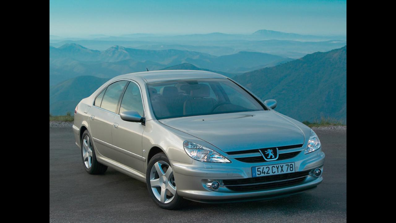 Peugeot 607 con 2.2 HDI da 170 cv